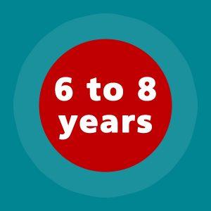 6-8 years