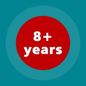 8+ years